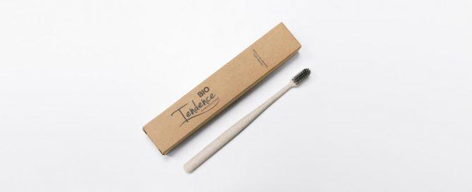 cepillo de dientes biodegradable